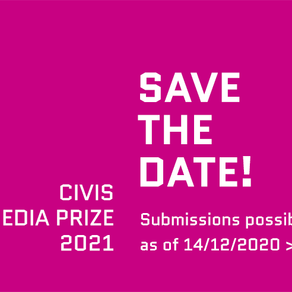 Deadline Extension: CIVIS Media Prize 2021