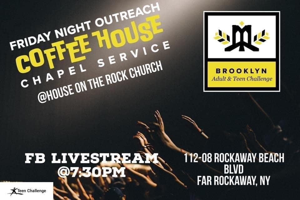 Brooklyn Teen Challenge Coffeehouse Chapel Service