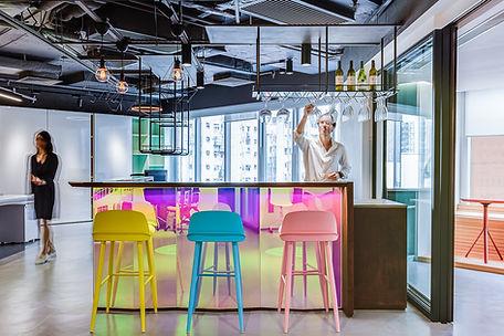 atelier C+ HK4As interior design office bar