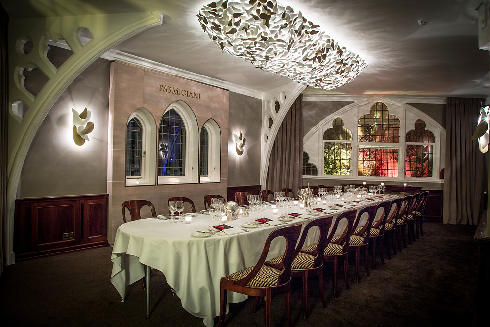 The Parmigiani Private Dining Room