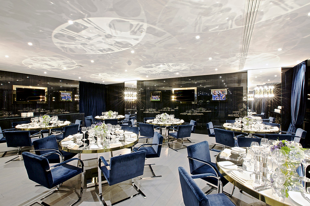 The Directors Lounge at Chelsea Football Club