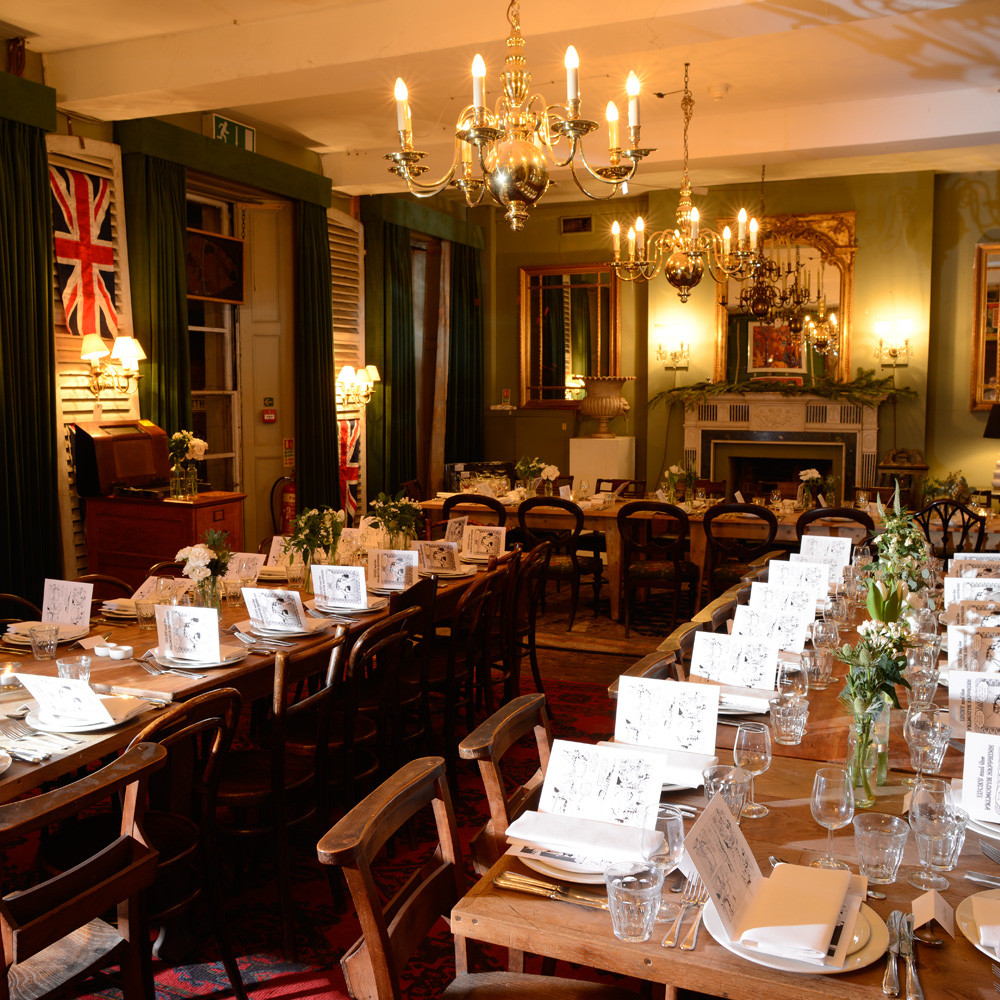 Brunswick House Vauxhall Private Dining Room