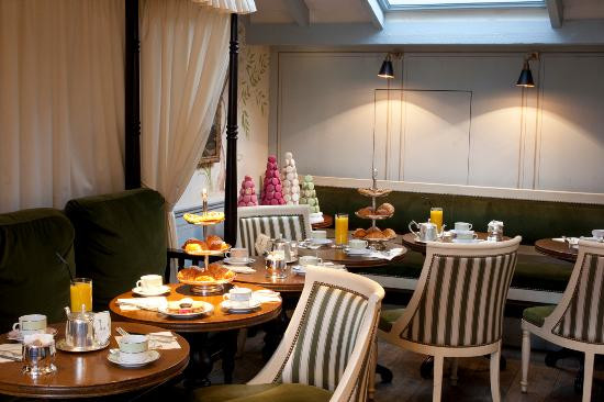 The Travellers Tea Room Private Dining Room at Laduree London Covent Garden