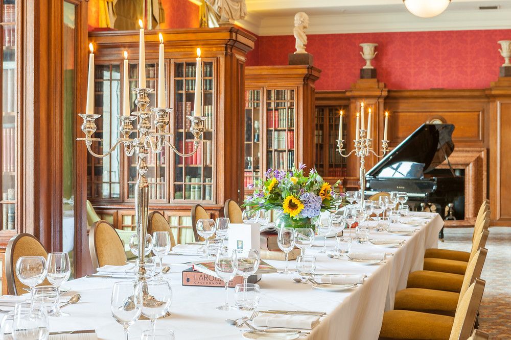 The Library Private Dining Room Waterloo Gillray's
