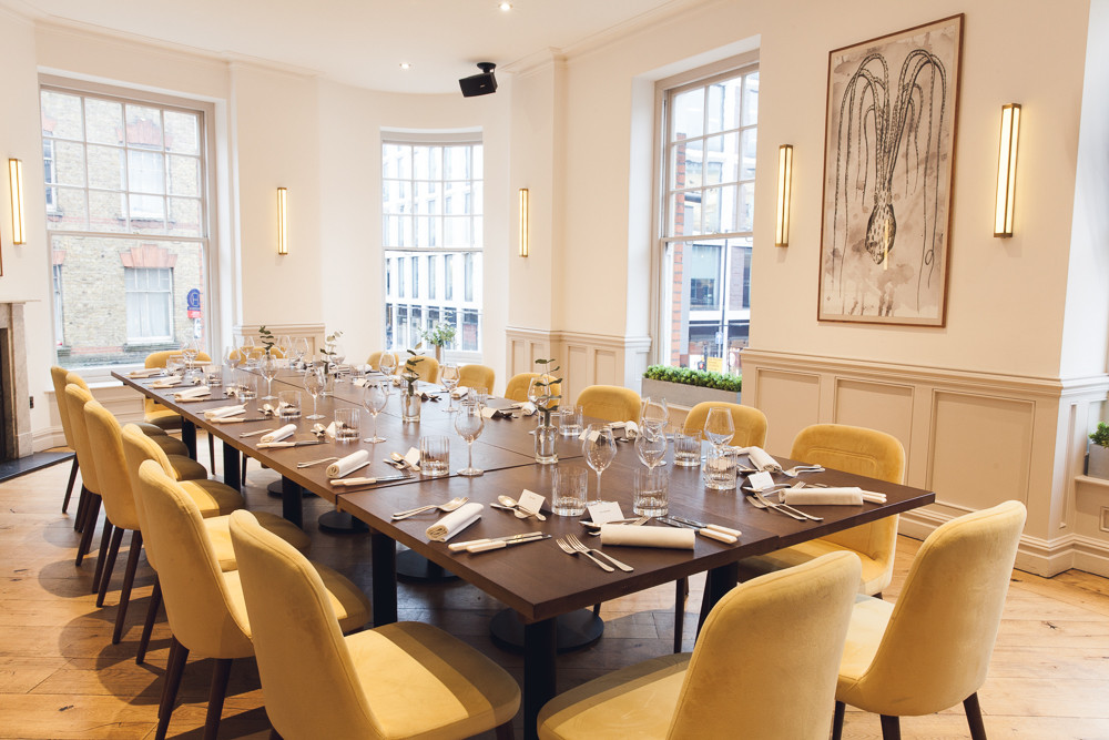 Dickie Fitz Private Dining Room