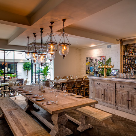 The Best Summer Private Dining Rooms in London