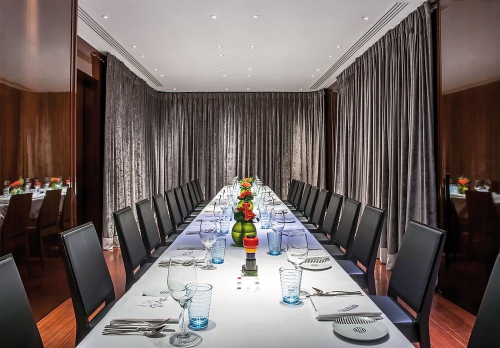 Rivea London private dining in London