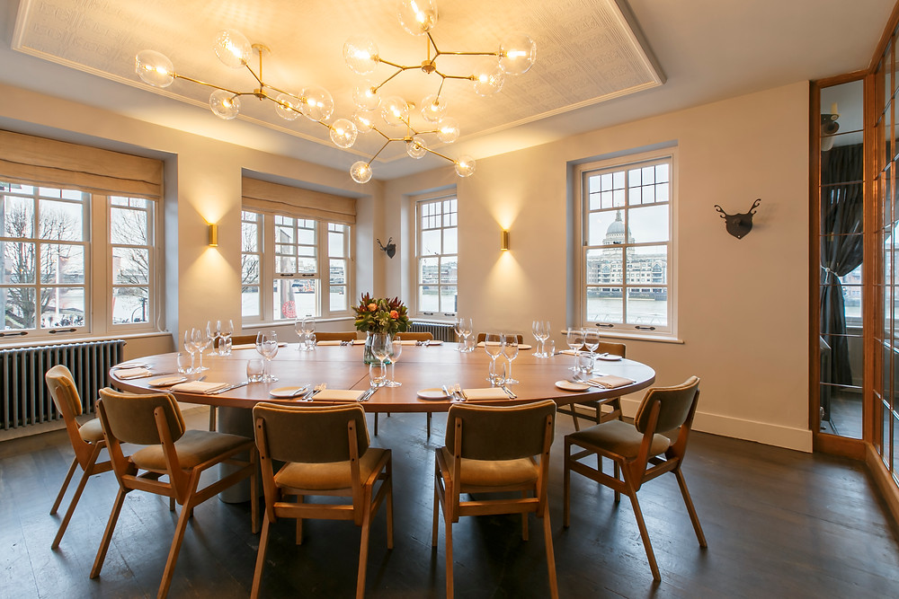 Private Dining Room The Swan at The Globe