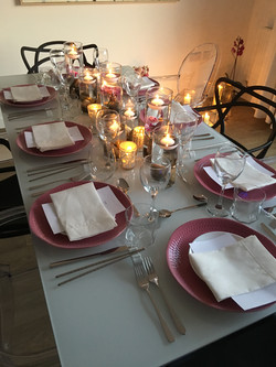 Organise a private dinner party