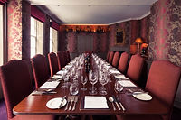 1. Restaurants with private rooms