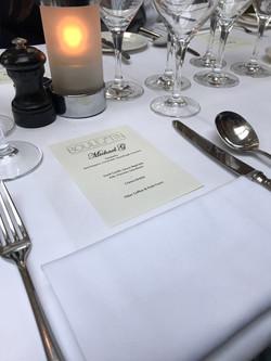 Boulestin, Mayfair wedding