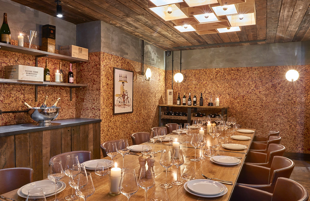 The Private Dining Room at Humble Grape