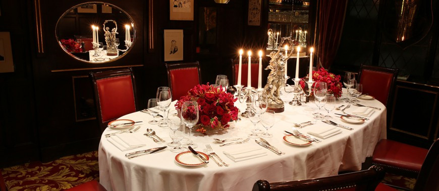 Private Dining Room at Rules Covent Garden The John Betjeman Room