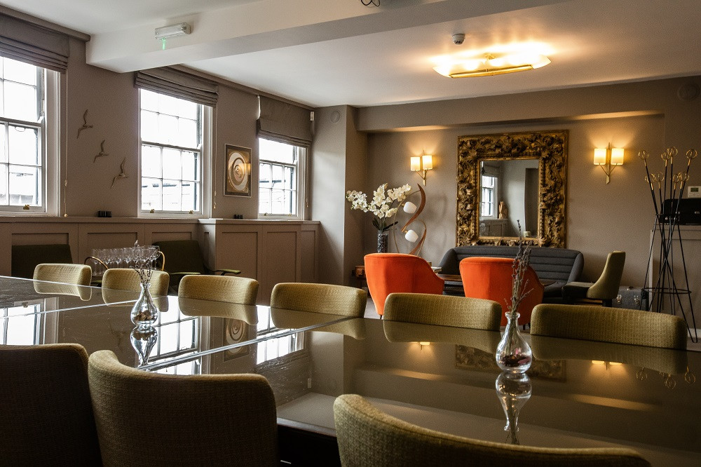 Private Dining Room in Bird of Smithfield