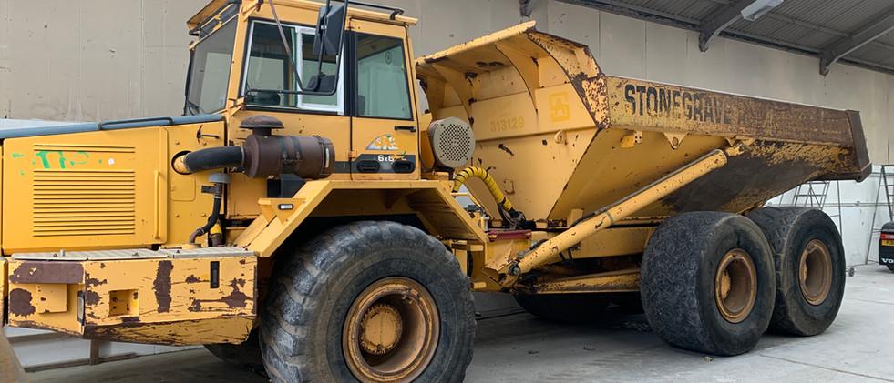 Refurb of A130 Dumper Truck