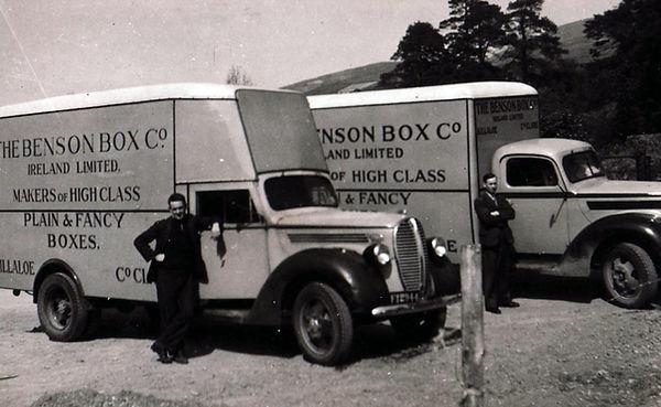 Delivery vans 1950's