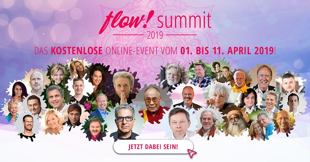 Der Dalai Lama, Eckehard Tolle, Kurt Tepperwein, Bruce Lipton, Joe Dispenza - alle kostenlos erleben!