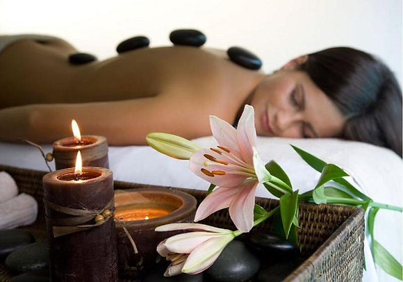 90 Minute Hot Stone Massage
