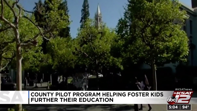Local pilot program to help foster kids find path to college