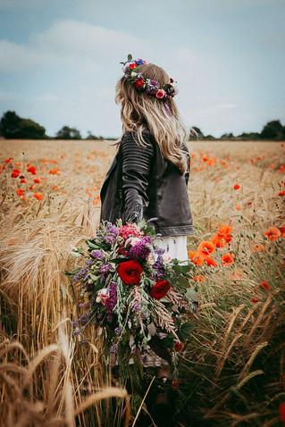 Summer Bride- The Flower Crown affair