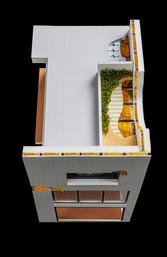 Détail de toiture terrasse