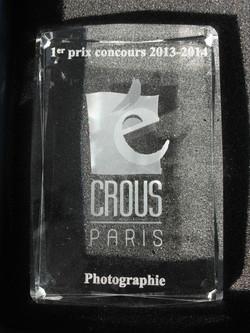 1er Prix du concours artistiaues 2014-Paris
