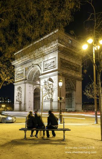 Arc de Triomphe de l'Étoile/巴黎凱旋門