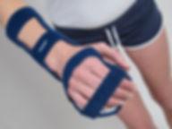 Orthesen: Palmare Unterarm Orthese ohne Daumen