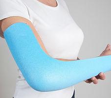 Ruhigstellende Verbände, Schienen, Orthesen, Verbandstoffe