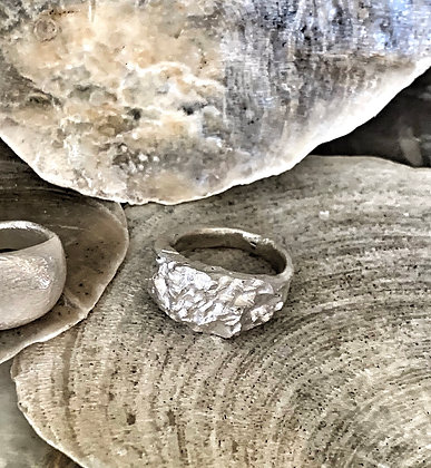 RoughSilverRing