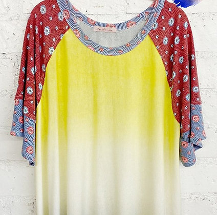 Sublimation Summer Top