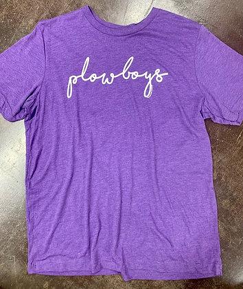 Simply Plowboys Purple Tee