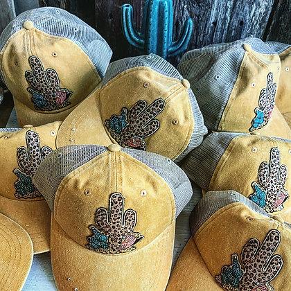 Saguaro Leopard Cactus Snap Back
