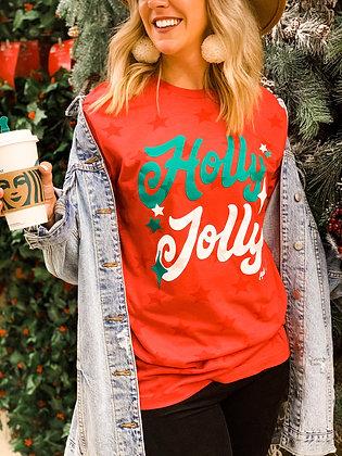 Holly Jolly Star T-Shirt