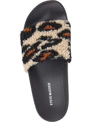 Steve Madden Cozy Leopard Slipper