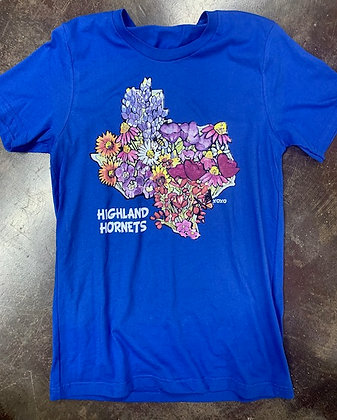 Highland Wildflower TX Tee