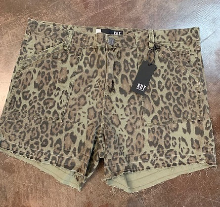 Green Leopard Short