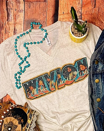 Waylon Vintage V-Neck Tee