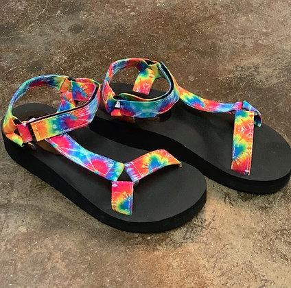 Steve Madden Tye Dye Comfort Sandal