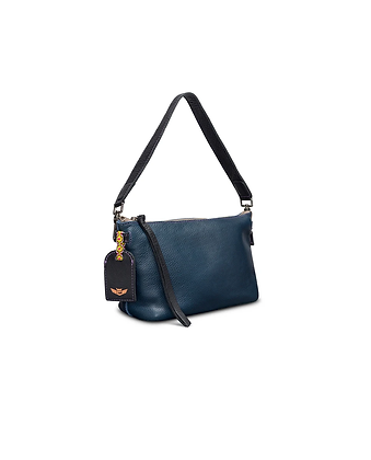 Consuela Navy Leather Your Way Bag