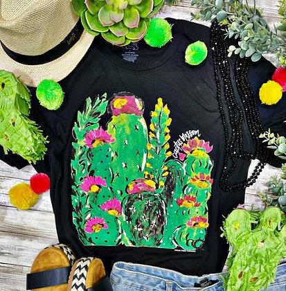 Cactus Blossom Tee