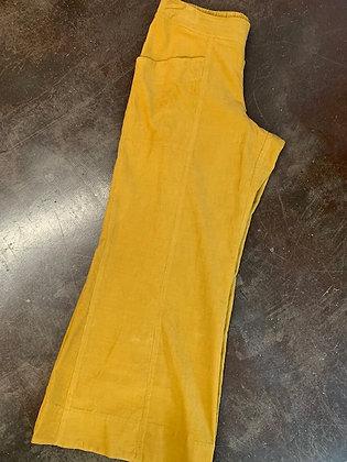 Ivy Jane Mustard Cord Wide Leg Pant
