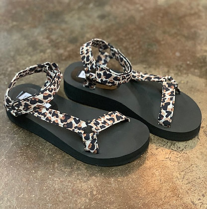 Steve Madden  Leopard Comfort Sandal