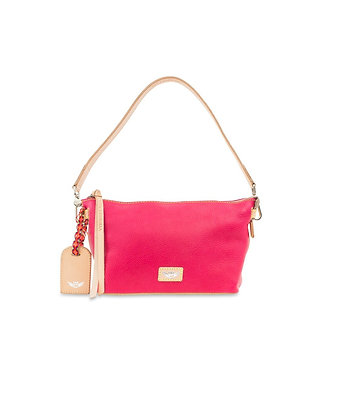 Consuela Rosa Leather Pouch