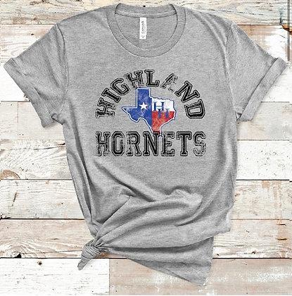 Vintage Highland Hornets TX