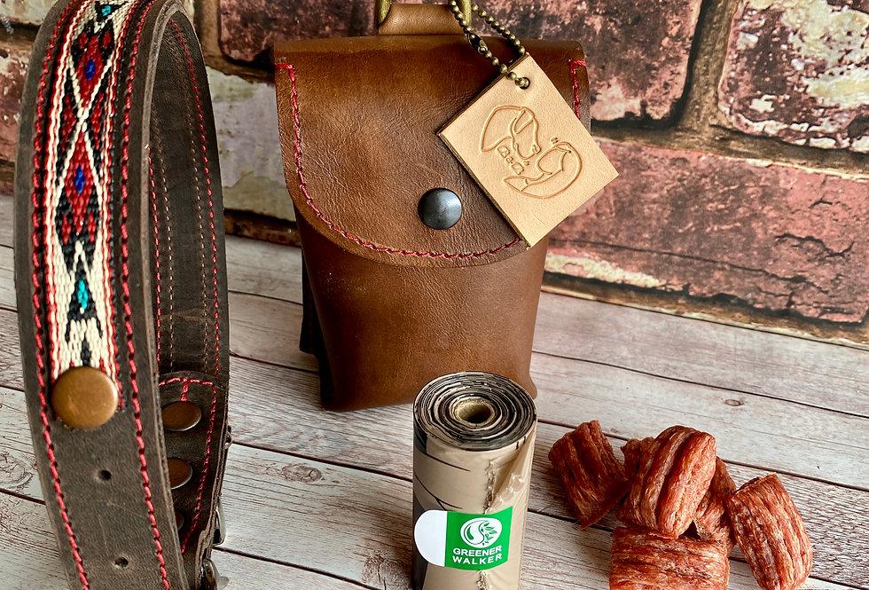 LeatherDog Treat / Poo Bag Holder