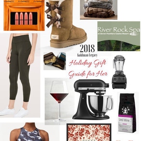 Holiday Gift Guide for your lady
