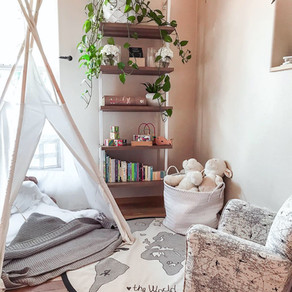 Adult Living Space Meets Childrens' Corner