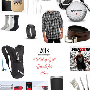 Holiday Gift Guide for your Guy... or Dad
