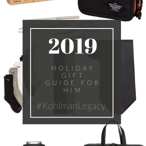 2019 Gift Guide for HIM